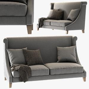 beni sofa ralph badajo 3D model