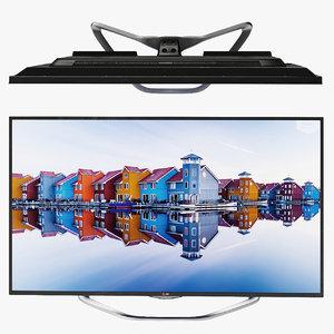tv lg 32la620 smart 3D model