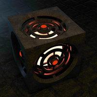 concepts fantasy cube 3D model