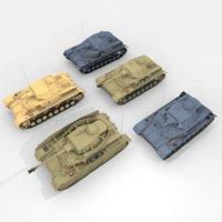 3D panzer iv d e