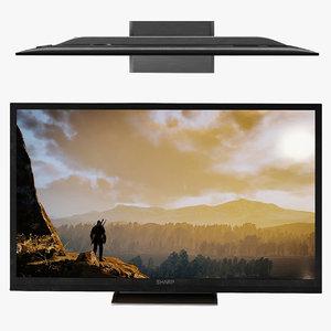 sharp lc smart tv 3D