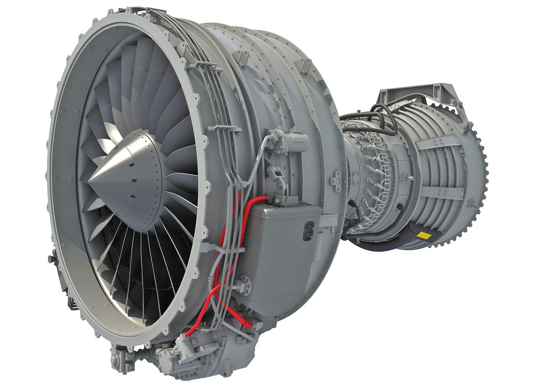 3ds cfm56 turbofan aircraft engine