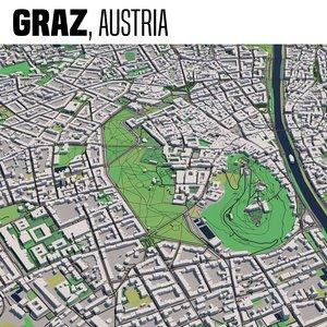 3D city graz model