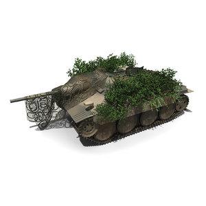 3D german tank jagdpanzer 38