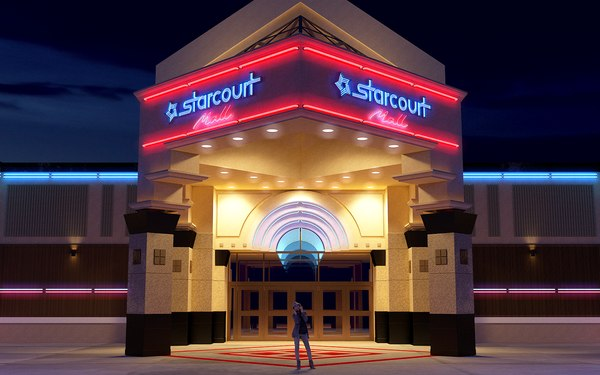 starcourt mall stranger things 3D