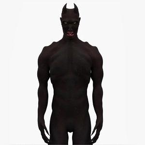 daemon creature 3D model