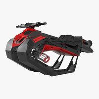 3D model flyride hover jet ski