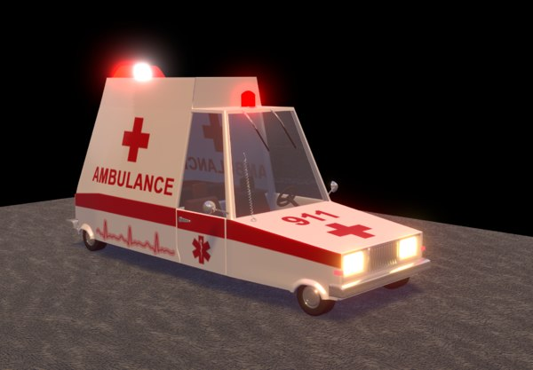 ambulance car model
