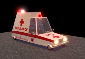 ambulance car model
