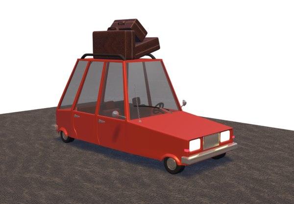 car combi 3D model