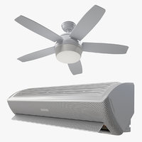 air conditioning equipment 3D model