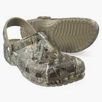 crocs youth classic realtree 3D
