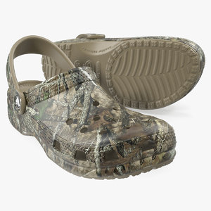 crocs youth classic realtree 3D
