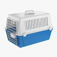 3D realistic pet carrier