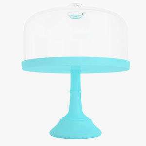 pie cake stand 3D model