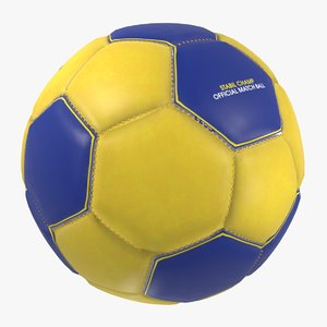3D model handball ball