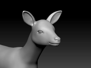 deer animal 3D model