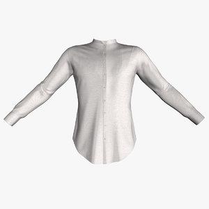 3D shirt men model