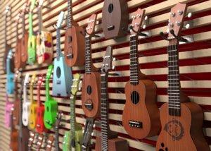 3D model ukulele shop