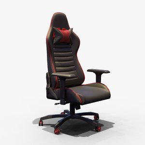 3D gaming ergonomic leather chair