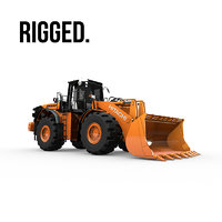 3D hitachi zw550 wheel loader