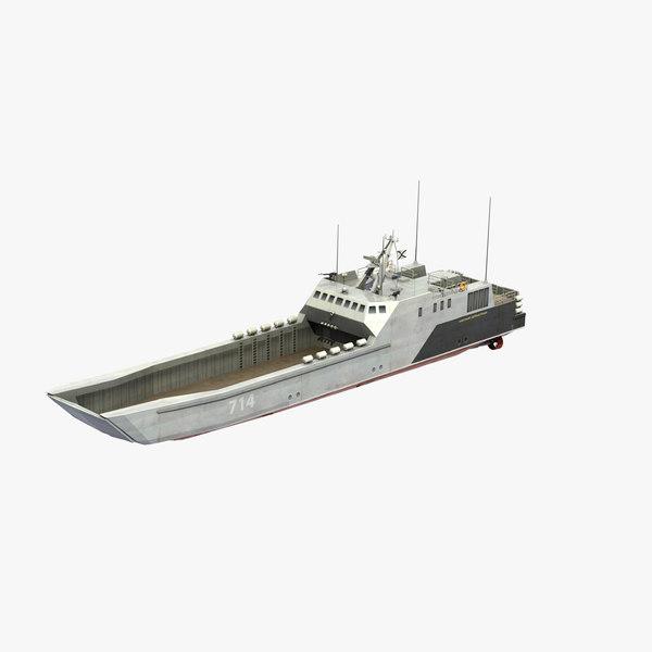 dyugon landing craft 3D model