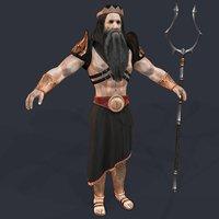 3D greek hades model