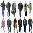 Mannequin in Coat Collection