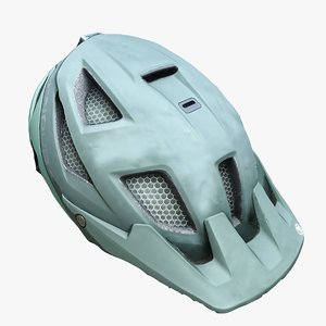 mountainbike helmet 3D model