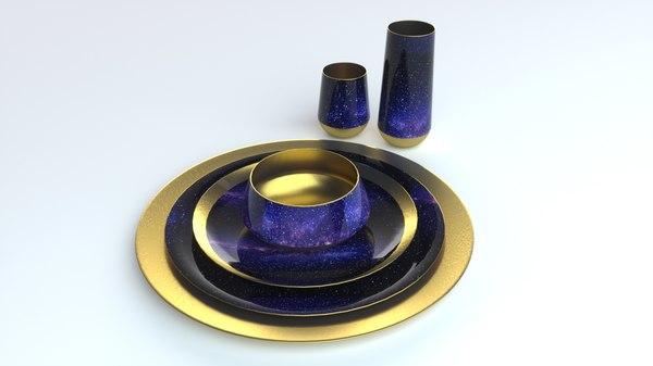 plate set galaxy model