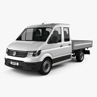 Volkswagen Crafter Double Cab Dropside 2017