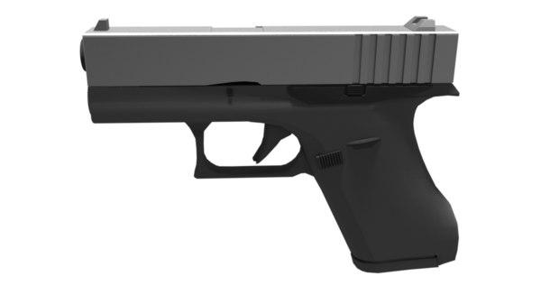 3D glock 42 model