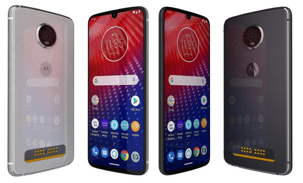 3D motorola moto z4 flash model