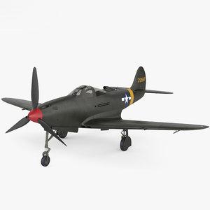 3D bell p-39 p model
