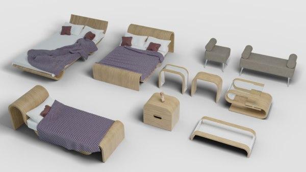 table seat dae model