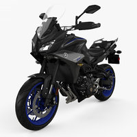 3D model yamaha mt-09 tracer