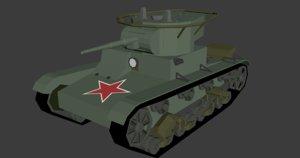 t-26 isometric 3D model