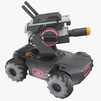 3D dji robomaster s1 red