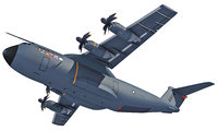 Airbus A400M Atlas Aircraft 3D Model