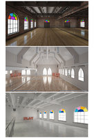 ballet-dance center furniture 3D model