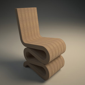 wiggle chair 3D model