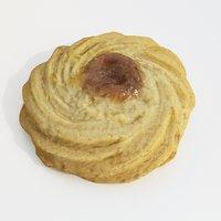 cookie dessert 3D