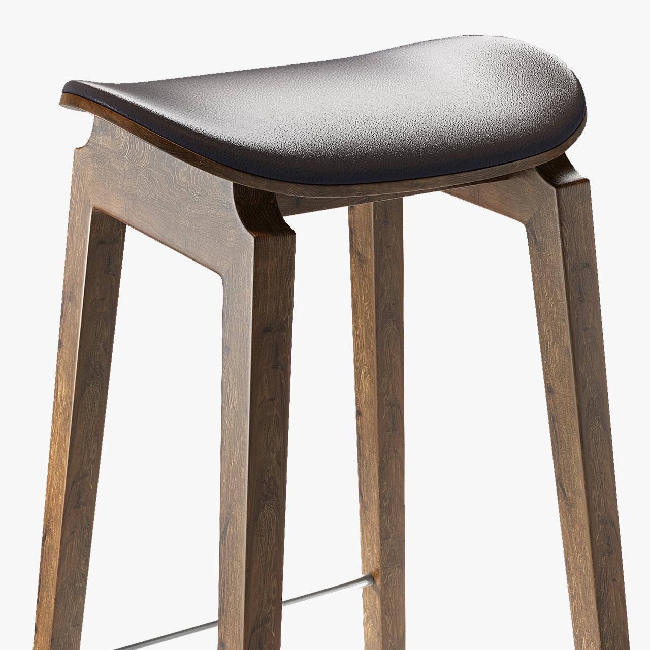 Fantastic Ny11 Bar Chair Natural Stool Modern Machost Co Dining Chair Design Ideas Machostcouk