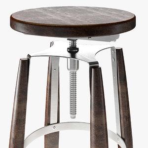 3D stool cosmorelax rocket