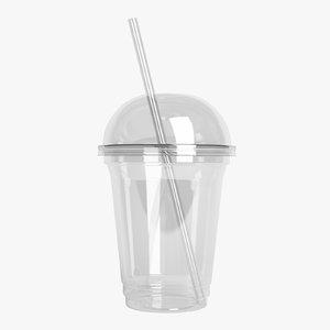 3D plastic cup 01