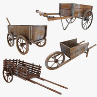 Wooden Cart (Old) Collection