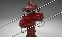 Fire Hydrant with 3 styles