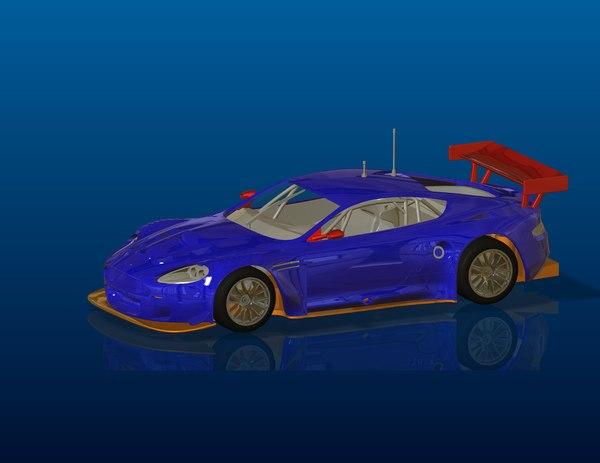 car dbr9 3D