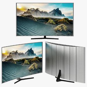 samsung -js9000 smart tv plasma 3D model