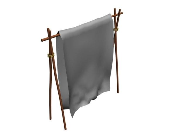 curtain decoration model